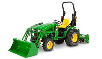 2 Family John Deere Compact Utility Tractor