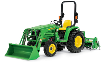 3 Family John Deere compact utility tractor
