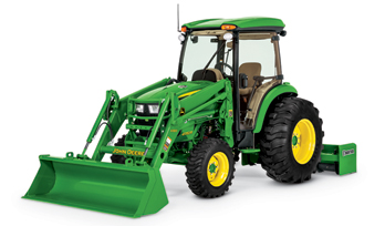 4 Family John Deere Compact Utility Tractor
