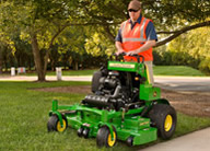 Walk Behind & Stand-On Mowers