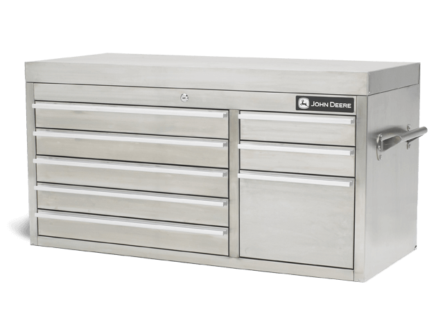 AC-4100TC-T 41-in., 8-Drawer Stainless Steel Tool Chest