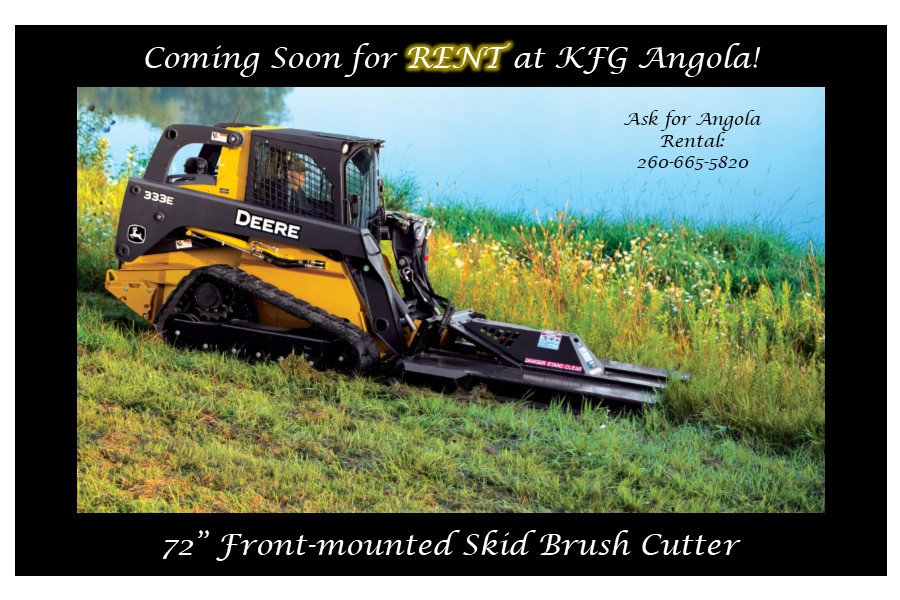 rental skid brush cutter