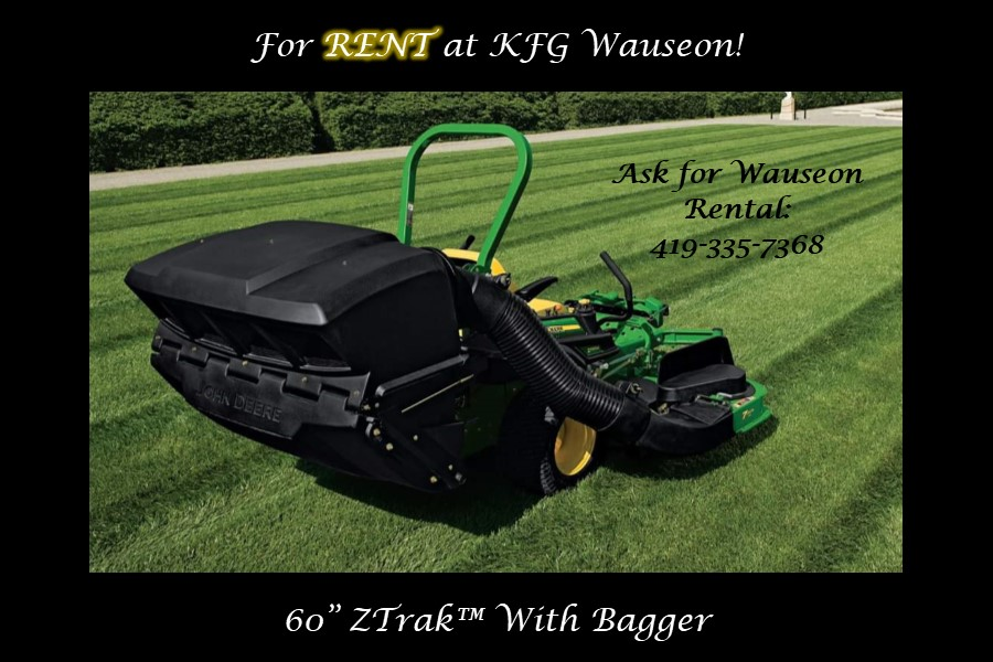Rental ZTrak Mower Bagger