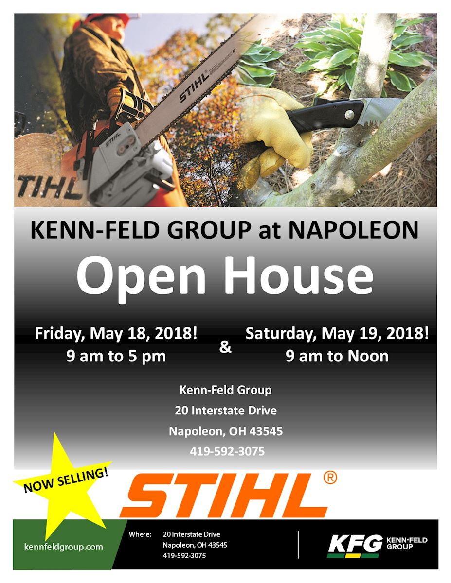 STIHL OPEN HOUSE NAPOLEON