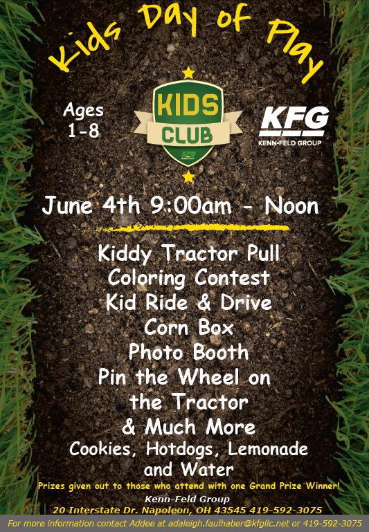 Kids Day of Play, John Deere, community events